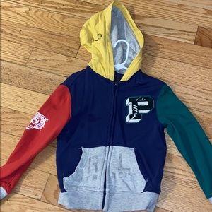 Kid's polo hoodie size 5